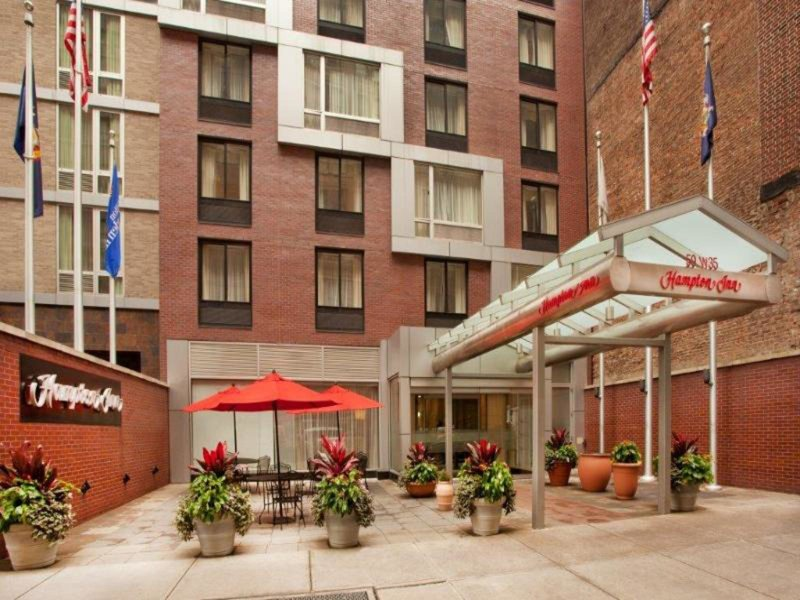 New York, Hampton Inn Empire State Building vom 2021-03-07 bis 2021-03-08 für 39 EUR p.P.